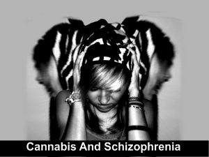 Cannabis And Schizophrenia